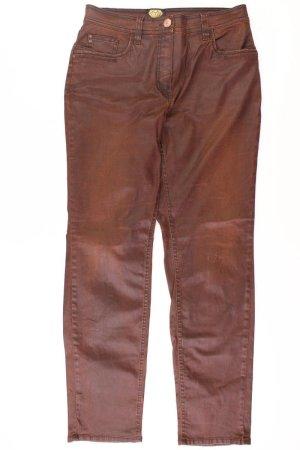 Sarah Kern Regular Jeans Größe 44 braun aus Baumwolle