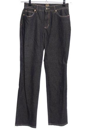 Sarah Kern Jeans cigarette noir style décontracté