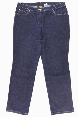Sarah Kern Straight Jeans Größe L blau aus Baumwolle