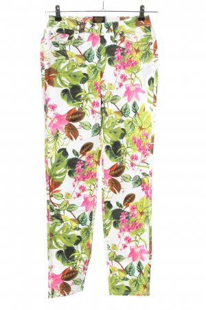 Sarah Kern Slim Jeans Blumenmuster Casual-Look