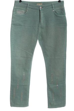 Sarah Kern Jeans elasticizzati turchese stile casual