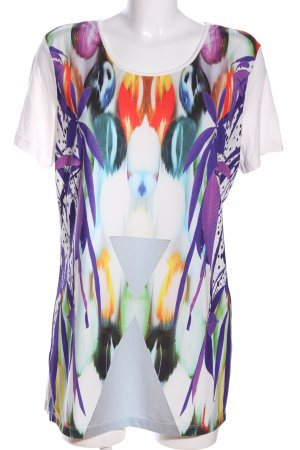 Sarah Kern T-Shirt abstraktes Muster Casual-Look
