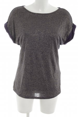 Sarah Kern T-Shirt lila-goldfarben Casual-Look