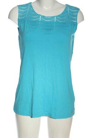 Sarah Kern Tanktop blau Casual-Look