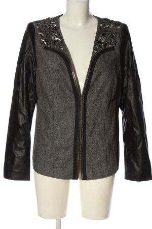 Sarah Kern Between-Seasons Jacket light grey-black casual look