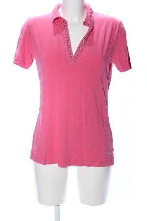 Sarah Kern V-Ausschnitt-Shirt pink Casual-Look
