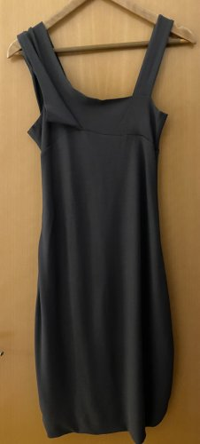 Sarah Pacini Midi Dress dark grey