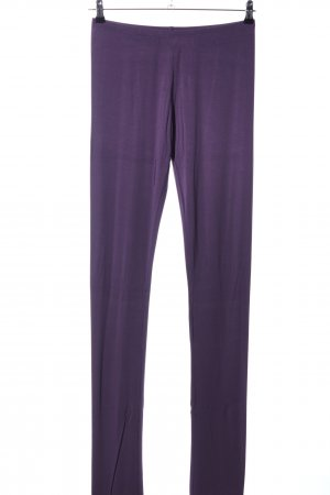 Sarah Pacini Leggings lila Casual-Look