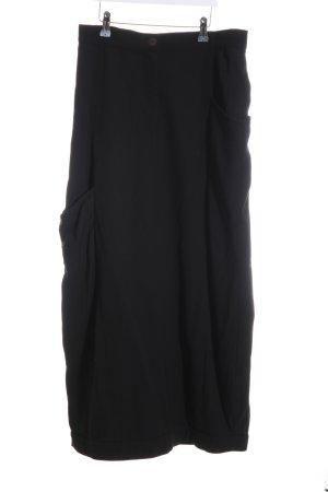 Sarah Pacini Maxi rok zwart casual uitstraling
