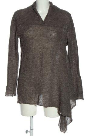 Sarah Pacini Wool Sweater brown casual look