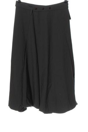 Sarah Pacini Wełniana spódnica jasnoszary W stylu biznesowym