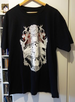 Camicia lunga nero-bianco