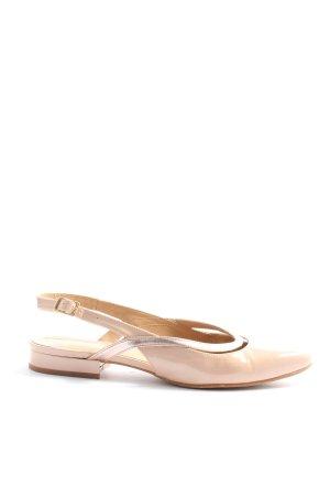 Sarenza Décolleté modello chanel rosa-oro stile casual