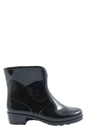 Sarra Z Lienne Wellington laarzen zwart casual uitstraling