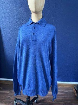 Cashmere Jumper steel blue cashmere