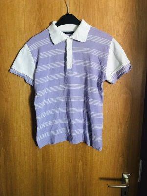 Sasch Polo violet-blanc