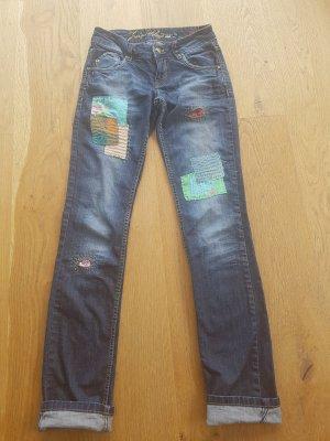Sashiko Upcycled Jeans