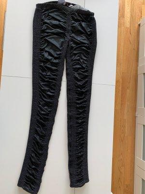 Sass &bide Leggings gesmokt schwarz Größe s/m