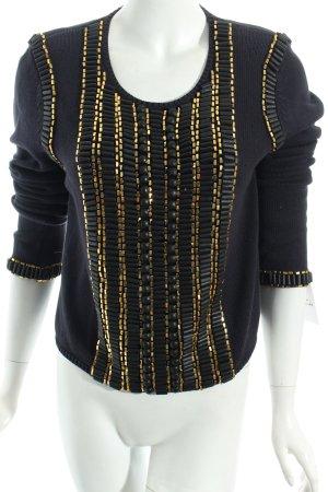 Sass & bide Maglione oro-blu scuro stile casual