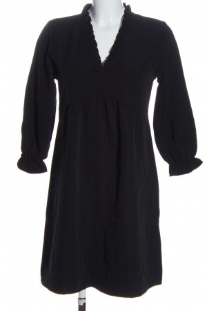 SassyClassy Blusenkleid schwarz Business-Look