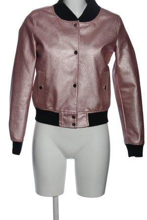 SassyClassy Bomberjacke pink-schwarz Casual-Look