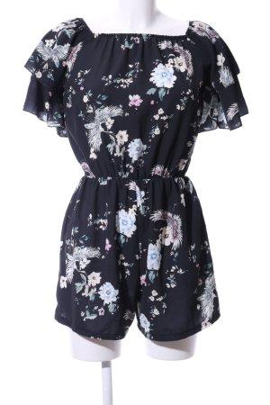 SassyClassy Jumpsuit Blumenmuster Casual-Look