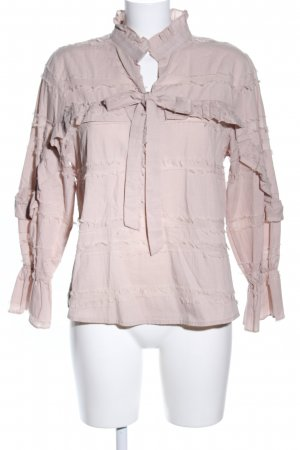 SassyClassy Langarm-Bluse creme Casual-Look