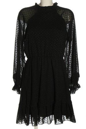 SassyClassy Langarmkleid schwarz Elegant
