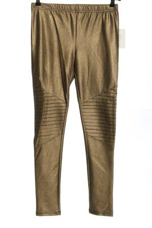 SassyClassy Leggings bronzefarben Casual-Look