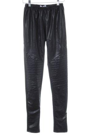 SassyClassy Leggings schwarz extravaganter Stil