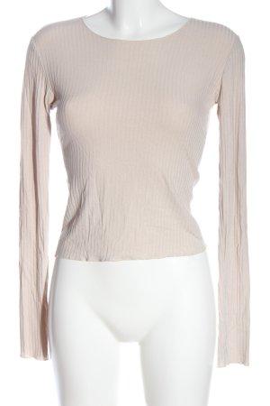 SassyClassy Manica lunga bianco sporco stile casual