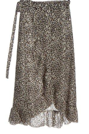 SassyClassy Wraparound Skirt allover print elegant