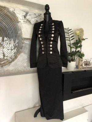 Satain Blazer mit Kleid von Zero