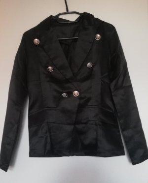Blouse Jacket black-gold-colored