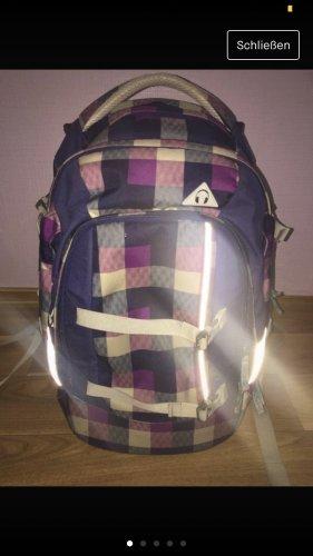 Satch Sac à dos collège violet foncé-bleu foncé