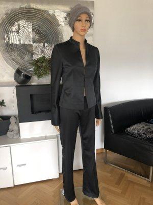 Satin Anzug Blazer/Hose von Zero