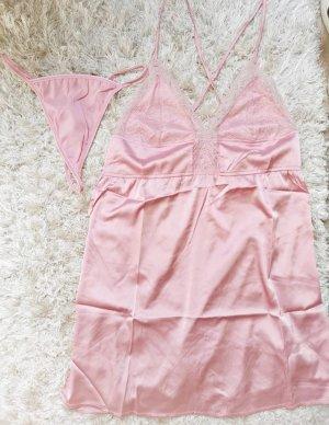 SheIn Lingerie Set pink-pink