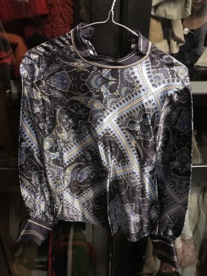 Woman for H&M Silk Blouse multicolored