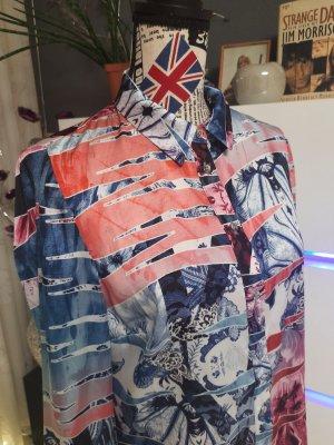 Guess Blusa brillante multicolor