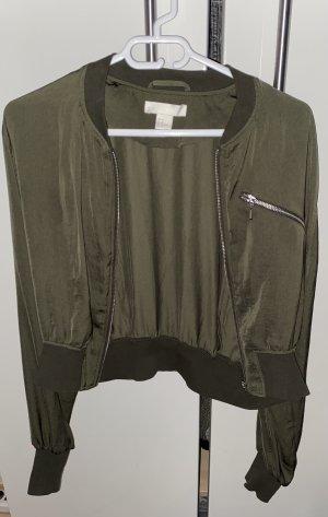 Satin College Jacke von H&M