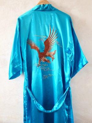 Kimono niebieski neonowy