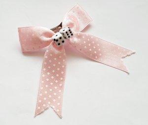 Hair Pin pink-white