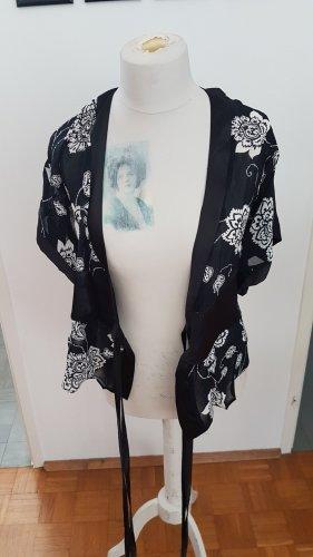 Orsay Kimono blouse wit-zwart