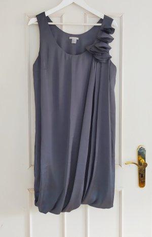 HM Sukienka z rękawem balonowym szary