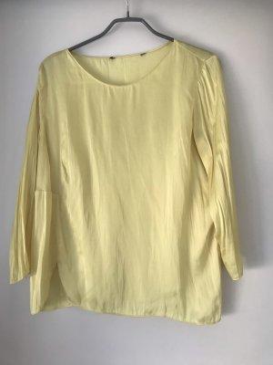 Zara Blouse met lange mouwen geel