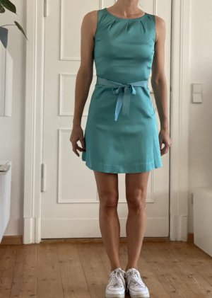 Satin Mini-Kleid