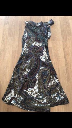 Satin Mini Kleid paisley Muster 34:36