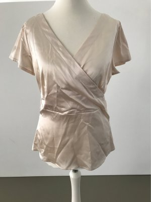 Ann Christine Blouse à manches courtes multicolore tissu mixte