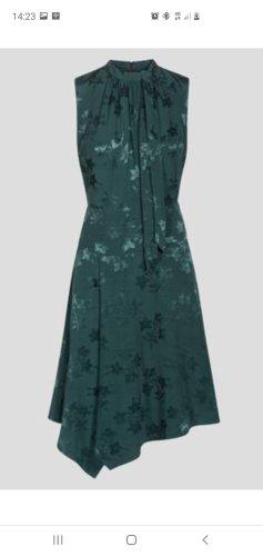 Satin Optik Kleid