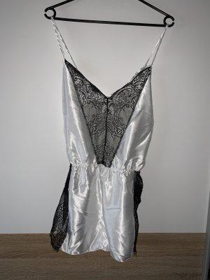 Pyjama white-black